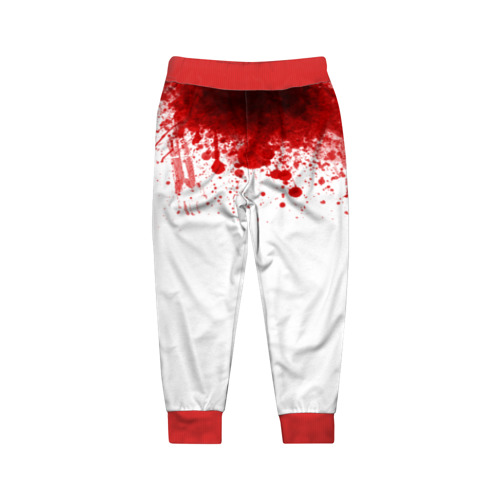 Детские брюки 3D Кровь Фото 01