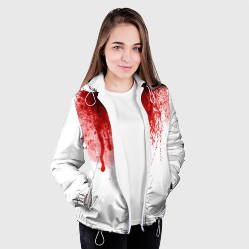 Женская куртка 3D  Фото 04, Кровь