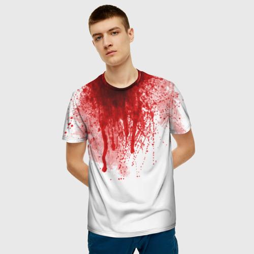 Мужская футболка 3D  Фото 03, Кровь