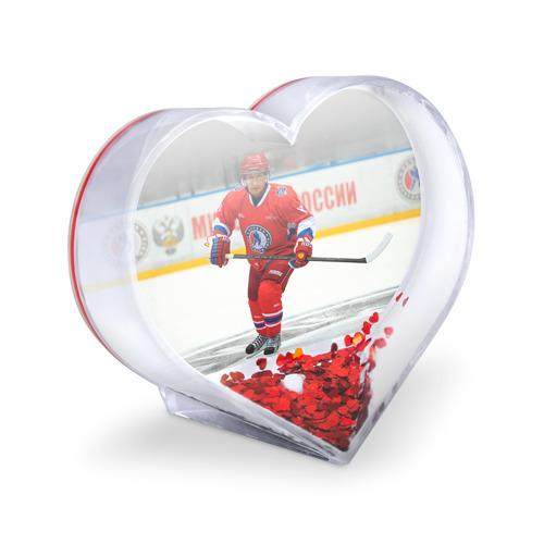 Сувенир Сердце  Фото 03, Путин хоккеист
