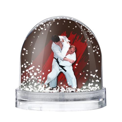 Водяной шар со снегом Дзюдо