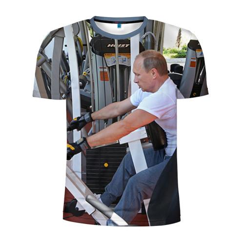 Мужская футболка 3D спортивная Спорт