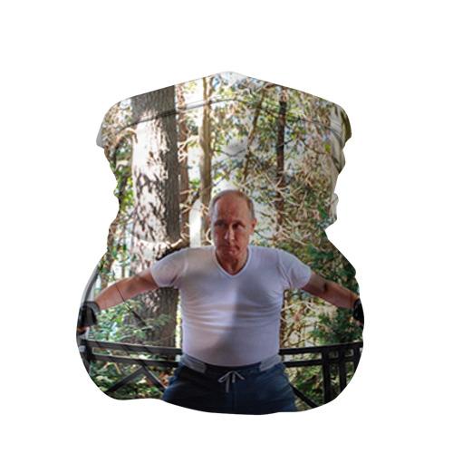 Бандана-труба 3D Спортивный Путин