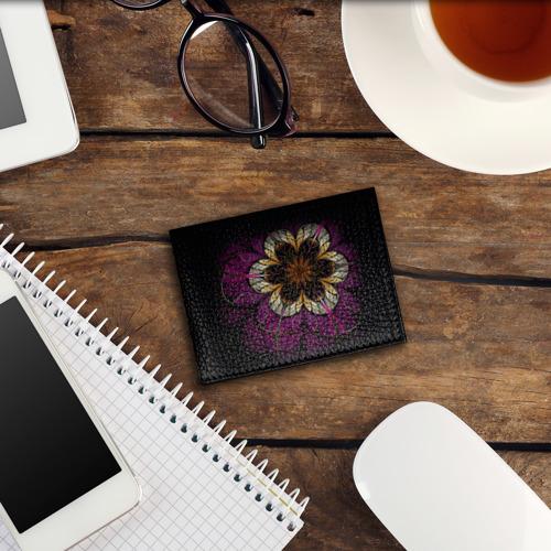 Обложка для студенческого билета  Фото 03, Цветочная абстракция
