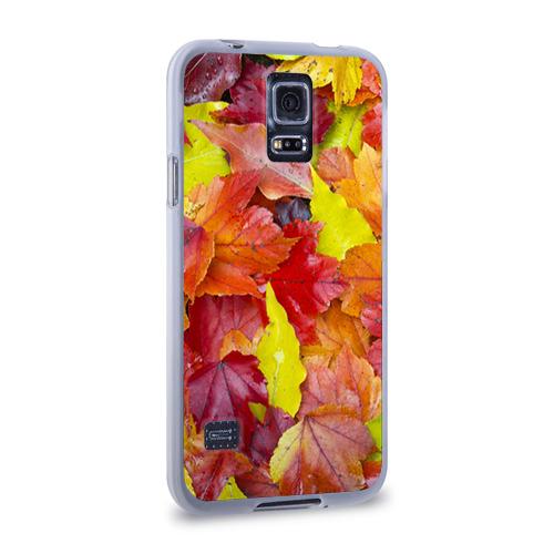 Чехол для Samsung Galaxy S5 силиконовый  Фото 02, Осень