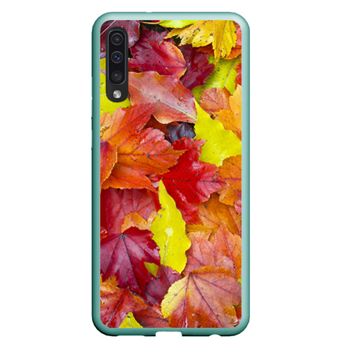 Чехол для Samsung A50 Осень Фото 01
