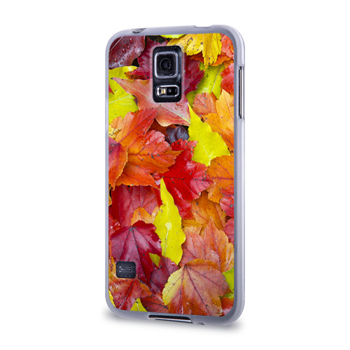 Чехол для Samsung Galaxy S5 силиконовый  Фото 03, Осень