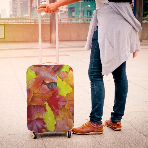 Чехол для чемодана 3D  Фото 04, Осень
