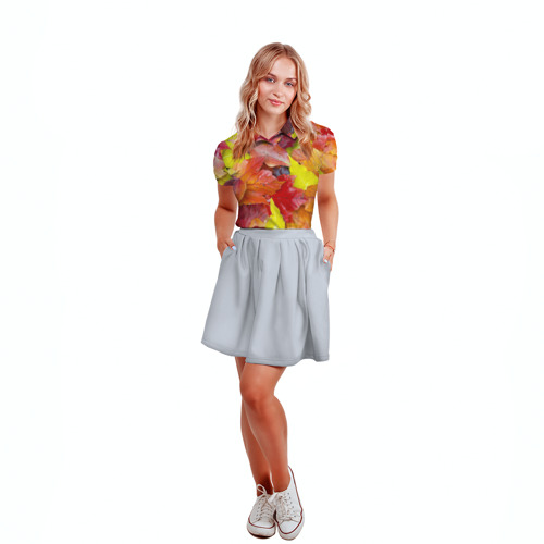 Женская рубашка поло 3D  Фото 04, Осень