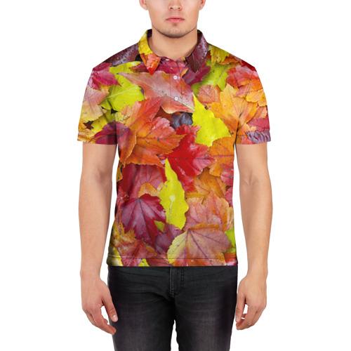 Мужская рубашка поло 3D  Фото 03, Осень