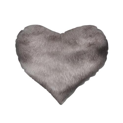 Подушка 3D сердце  Фото 02, Котик