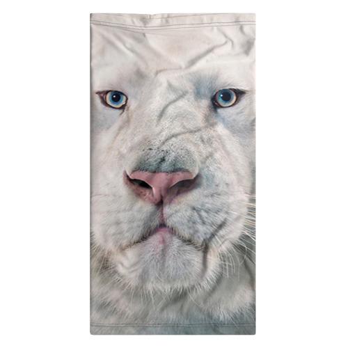 Бандана-труба 3D Белый лев Фото 01