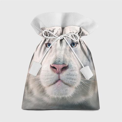Подарочный 3D мешок Белый лев