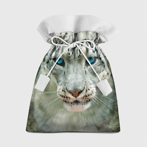 Подарочный 3D мешок Снежный барс