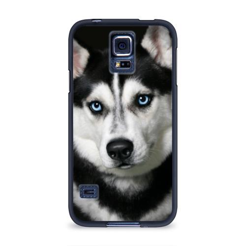 Чехол для Samsung Galaxy S5 силиконовый Хаски