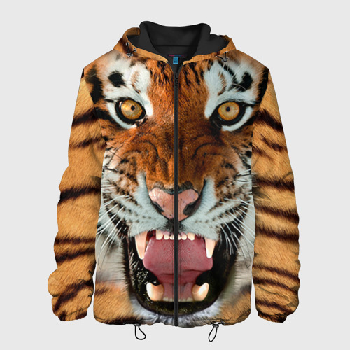 Мужская куртка 3D Тигр Фото 01
