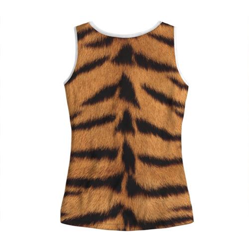 Женская майка 3D  Фото 02, Тигр