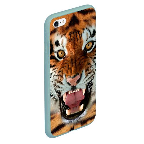 Чехол для iPhone 6Plus/6S Plus матовый Тигр Фото 01