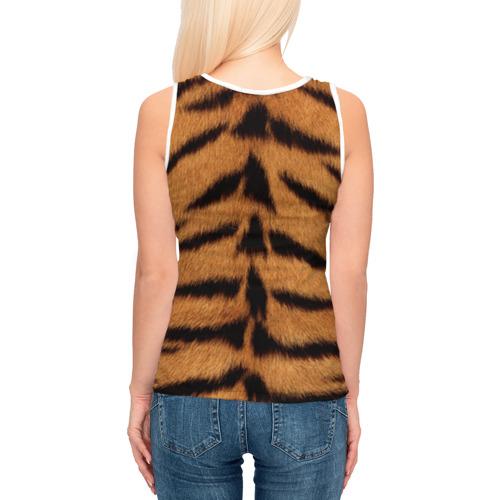 Женская майка 3D  Фото 04, Тигр