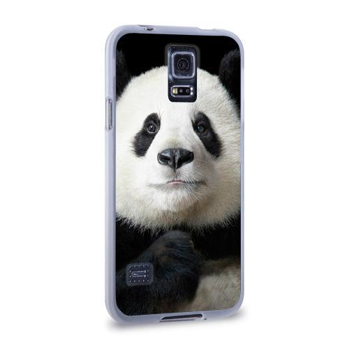 Чехол для Samsung Galaxy S5 силиконовый  Фото 02, Панда