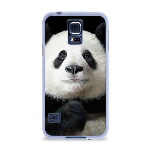 Чехол для Samsung Galaxy S5 силиконовый  Фото 01, Панда