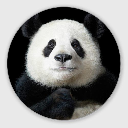 Коврик для мышки круглый Панда Фото 01