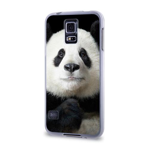 Чехол для Samsung Galaxy S5 силиконовый  Фото 03, Панда