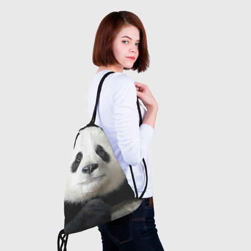 Рюкзак-мешок 3D Панда Фото 01