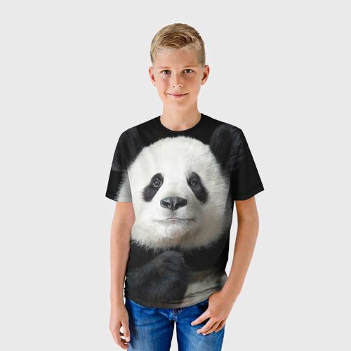 Детская футболка 3D Панда