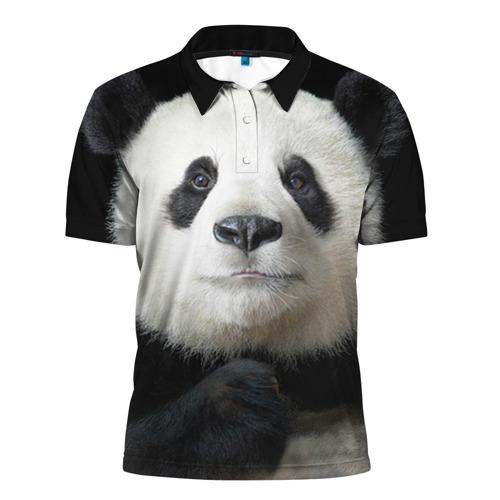 Мужская рубашка поло 3D Панда