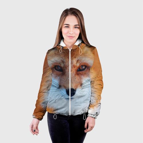 Женская куртка 3D  Фото 03, Лиса