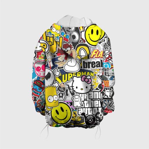 Детская куртка 3D  Фото 02, стикербомбинг