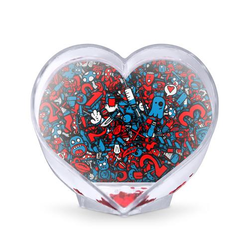 Сувенир Сердце Сувенир Сердце стикербомбинг от Всемайки