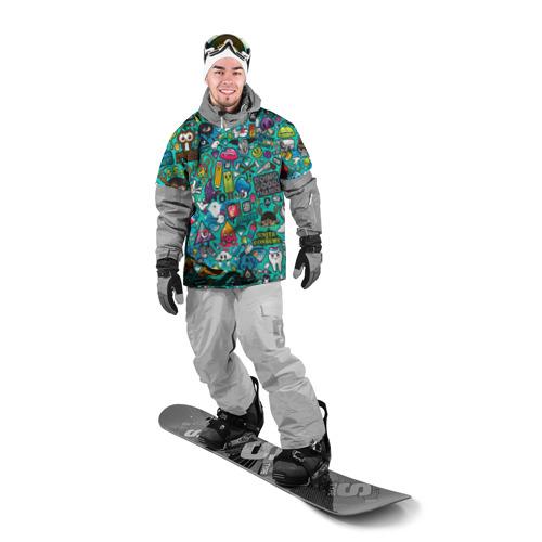 Накидка на куртку 3D стикербомбинг Фото 01