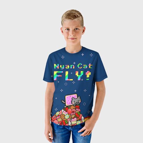 Детская футболка 3D Интернет Мем 1