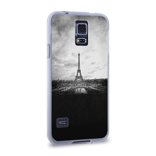 Чехол для Samsung Galaxy S5 силиконовый  Фото 02, Париж