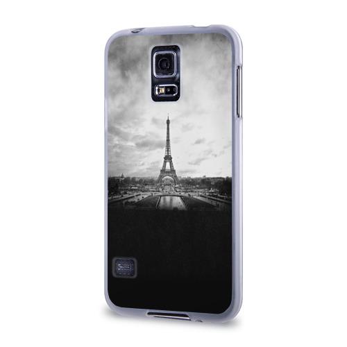 Чехол для Samsung Galaxy S5 силиконовый  Фото 03, Париж