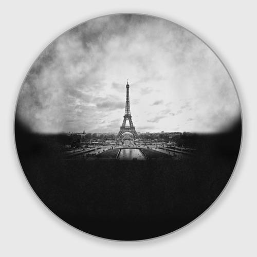 Коврик для мышки круглый Париж Фото 01