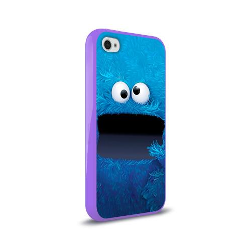 Чехол для Apple iPhone 4/4S силиконовый глянцевый  Фото 02, Плюшевый Мем