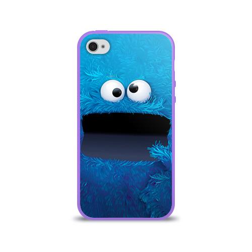 Чехол для Apple iPhone 4/4S силиконовый глянцевый  Фото 01, Плюшевый Мем
