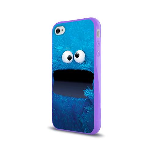 Чехол для Apple iPhone 4/4S силиконовый глянцевый  Фото 03, Плюшевый Мем