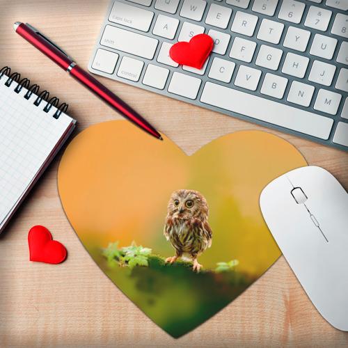 Коврик для мыши сердце  Фото 02, Одинокий страж