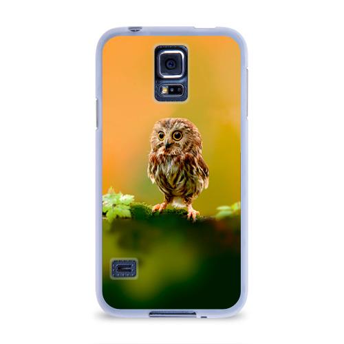 Чехол для Samsung Galaxy S5 силиконовый  Фото 01, Одинокий страж