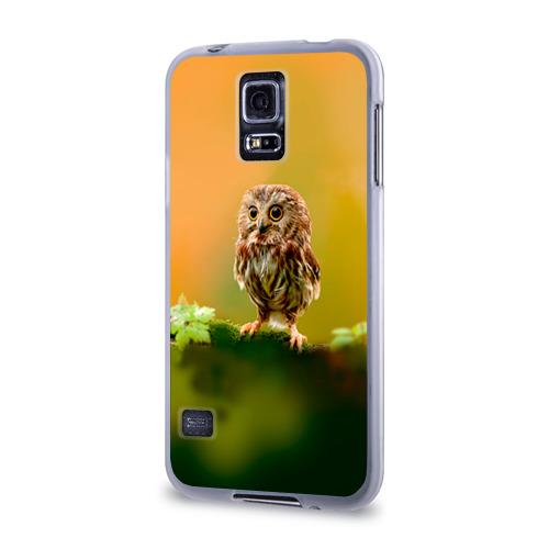 Чехол для Samsung Galaxy S5 силиконовый  Фото 03, Одинокий страж