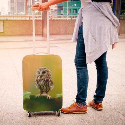 Чехол для чемодана 3D  Фото 04, Одинокий страж