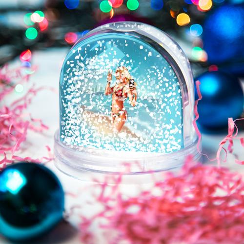 Водяной шар со снегом  Фото 04, Девушка GTA