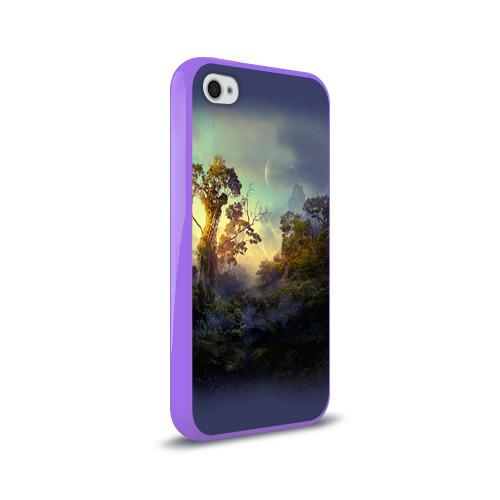 Чехол для Apple iPhone 4/4S силиконовый глянцевый  Фото 02, Природа