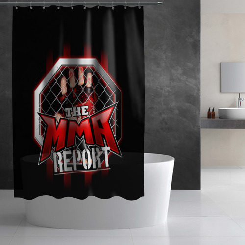 Штора 3D для ванной  Фото 03, MMA