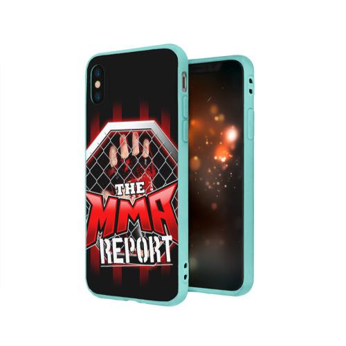 Чехол для iPhone X матовый MMA Фото 01