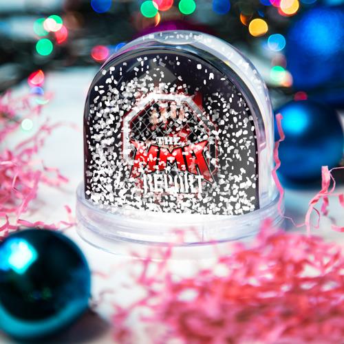 Водяной шар со снегом  Фото 04, MMA